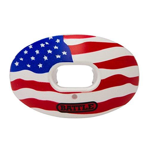 Battle Limited Edition Oxygen Mouthguard, American Flag, Adult
