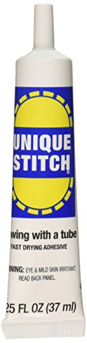 Dritz 44153 Unique Stitch Fabric Glue, 1.25 oz