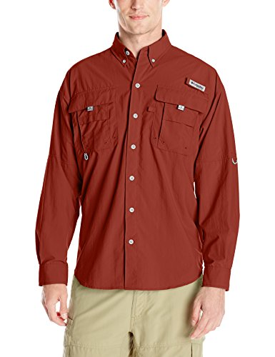 Columbia Sportswear Men's Bahama II Long Sleeve Shirt, Tribal, Large