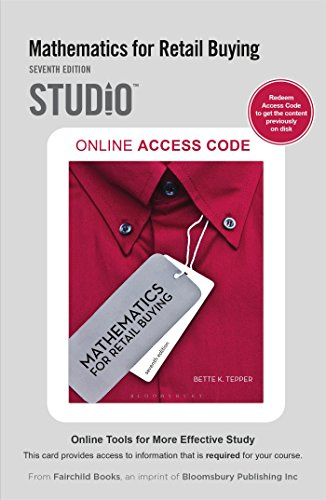Mathematics for Retail Buying: Studio Access Card