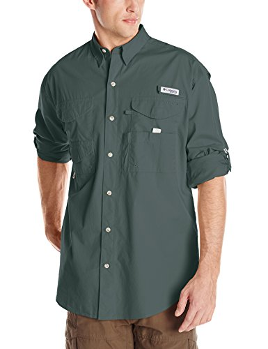 Columbia Sportswear Men's Bonehead Long Sleeve Shirt, Pond, Large