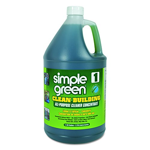 Simple Green 11001 Clean Building All-Purpose Cleaner Concentrate, 1gal Bottle