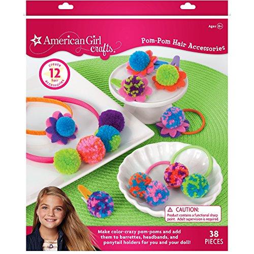 American Girl Pom-Pom Hair Accessories, 30-698956