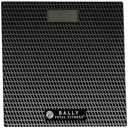 Bally Total Fitness BLS-7302 BLK Digital Bathroom Scale (Black),, Black