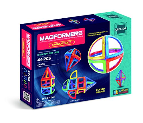 Magformers 44Pc Unique Set