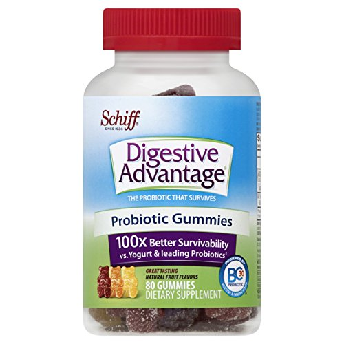 Digestive Advantage Daily Probiotic Gummies, 80 Count