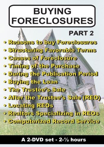 BUYING FORECLOSURES - Part 2