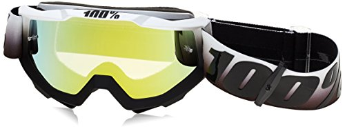 100% Unisex-Adult Invaders Accuri Goggles With Mirrored Lens (Purple/White,One Size Fits Most)