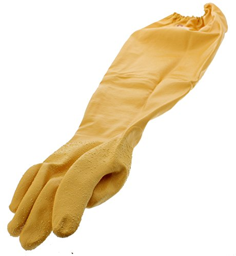 Showa Atlas 772 M Nitrile Elbow Length Chemical Resistant Gloves, 26