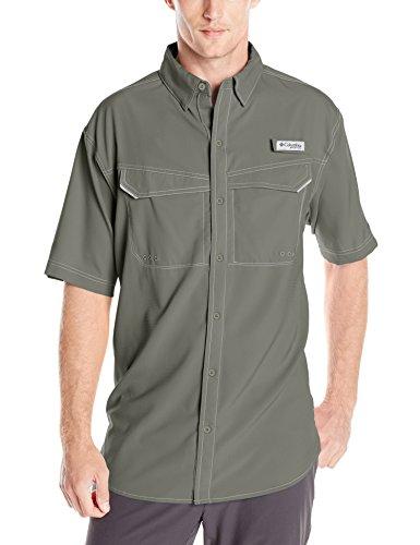 Columbia Men's Sportswear Low Drag Offshore Short Sleeve Shirt, Cypress, X-Large